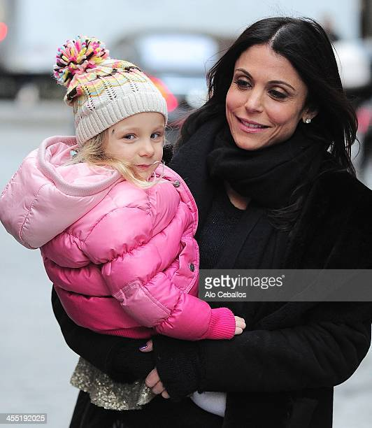Bethenny Frankel and Bryn Hoppy are seen in Tribeca on December 11 2013 in New York City