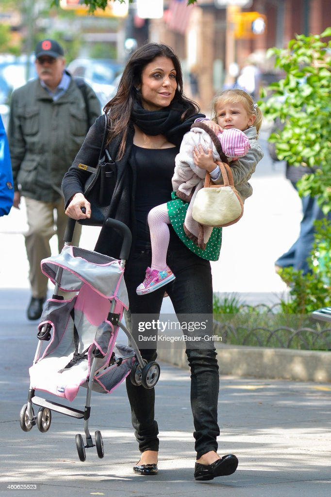 Bethenny Frankel and Bryn Hoppy are seen on May 15 2013 in New York City