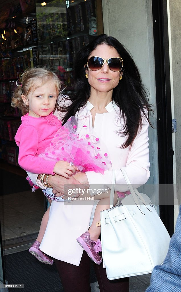 Bethenny Frankel and Bryn Hoppy are seen out side 'Dylan's Candy Bar' on Bryn Hoppy's Birthday on May 4 2013 in New York City