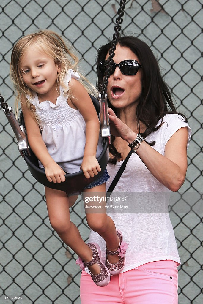 <a gi-track='captionPersonalityLinkClicked' href=/galleries/search?phrase=Bethenny+Frankel&family=editorial&specificpeople=873539 ng-click='$event.stopPropagation()'>Bethenny Frankel</a> and <a gi-track='captionPersonalityLinkClicked' href=/galleries/search?phrase=Bryn+Hoppy&family=editorial&specificpeople=7418444 ng-click='$event.stopPropagation()'>Bryn Hoppy</a> as seen on July 24, 2013 in New York City.