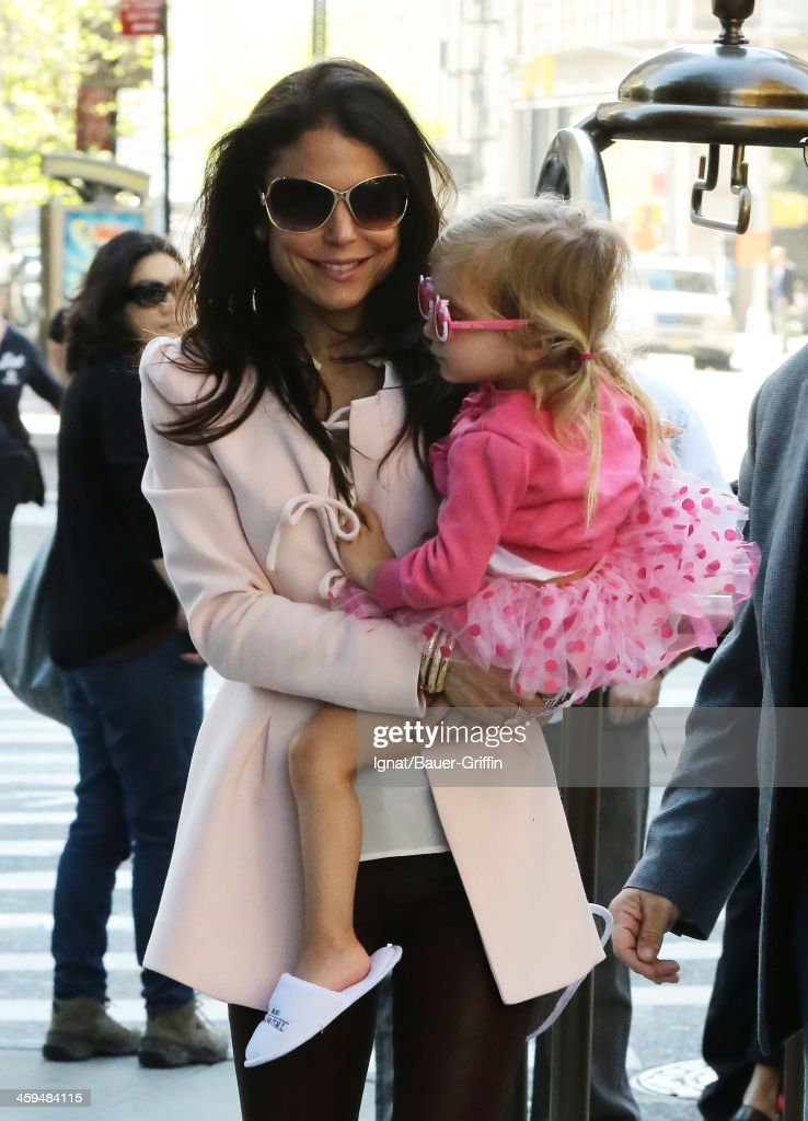Bethenny Frankel and daughter Bryn Hoppy are seen on May 04 2013 in New York City
