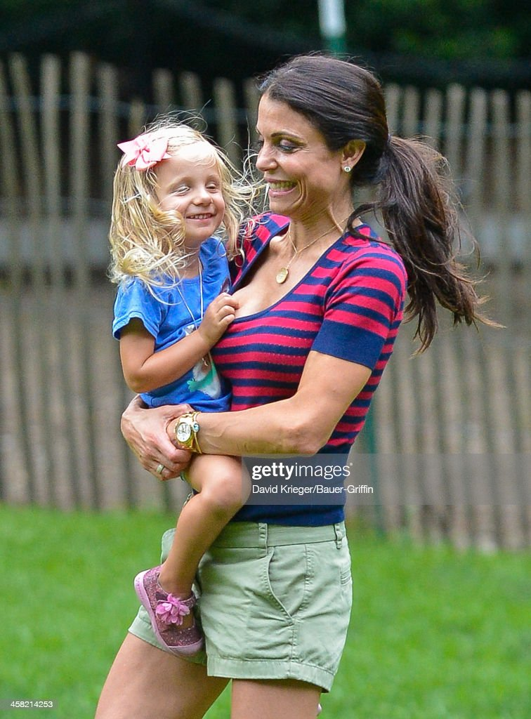 Bethenny Frankel and her daughter Bryn Hoppy are seen on July 23 2013 in New York City