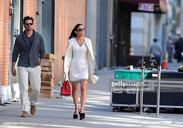Bethenny Frankel and Matt Hesse are seen on May 24 2012 in New York City
