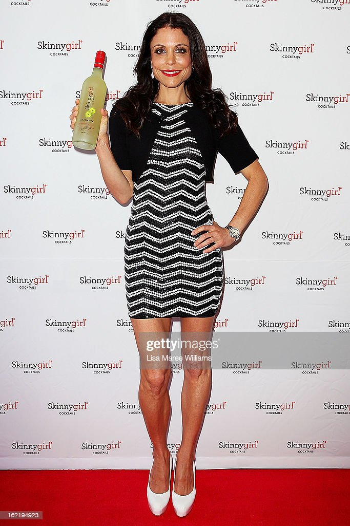 Bethenny Frankel arrives at the Skinnygirl Cocktail Pre-Party at Opera Point Marquee on February 20, 2013 in Sydney, Australia.