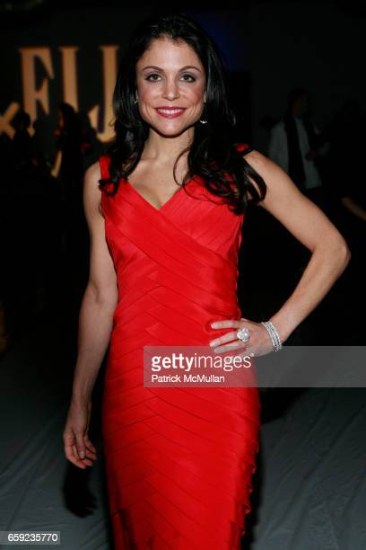 Bethenny Frankel attends ALVIN VALLEY Fall 2009 Collection Show at The Altman Building on February 12 2009 in New York City