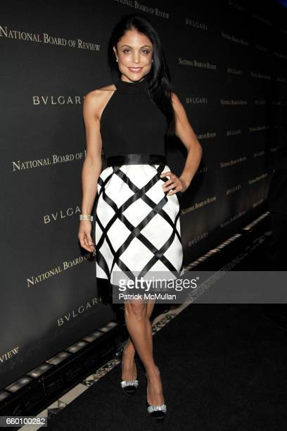 Bethenny Frankel attends BVLGARI hosts the 2008 National Board of Review Awards Red Carpet Arrivals at Cipriani 42nd Street on January 14 2009 in New...