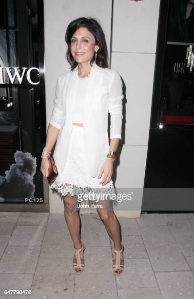 Bethenny Frankel attends Estefan Kitchen restaurant grand opening at the Palm Court in the Design District on March 3 2017 in Miami Florida