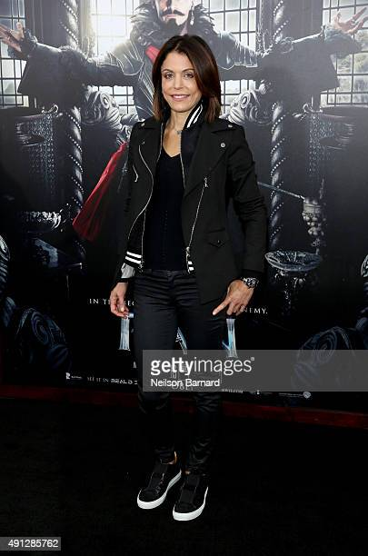 Bethenny Frankel attends 'Pan' premiere at Ziegfeld Theater on October 4 2015 in New York City