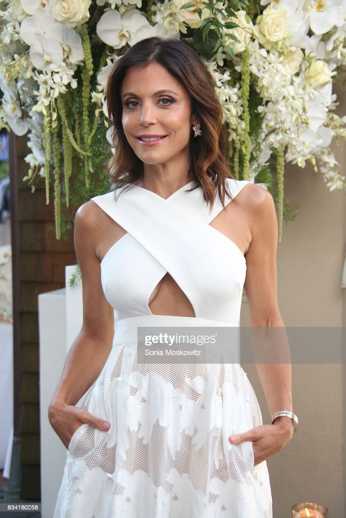 Bethenny Frankel attends the B Floral Cocktail Hour at the Southampton Social Club on August 17, 2017 in Southampton, New York.