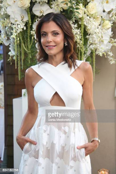 Bethenny Frankel attends the B Floral Cocktail Hour at the Southampton Social Club on August 17 2017 in Southampton New York