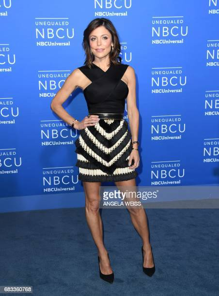 Bethenny Frankel attends the NBCUniversal 2017 Upfront on May 15 2017 in New York City / AFP PHOTO / ANGELA WEISS