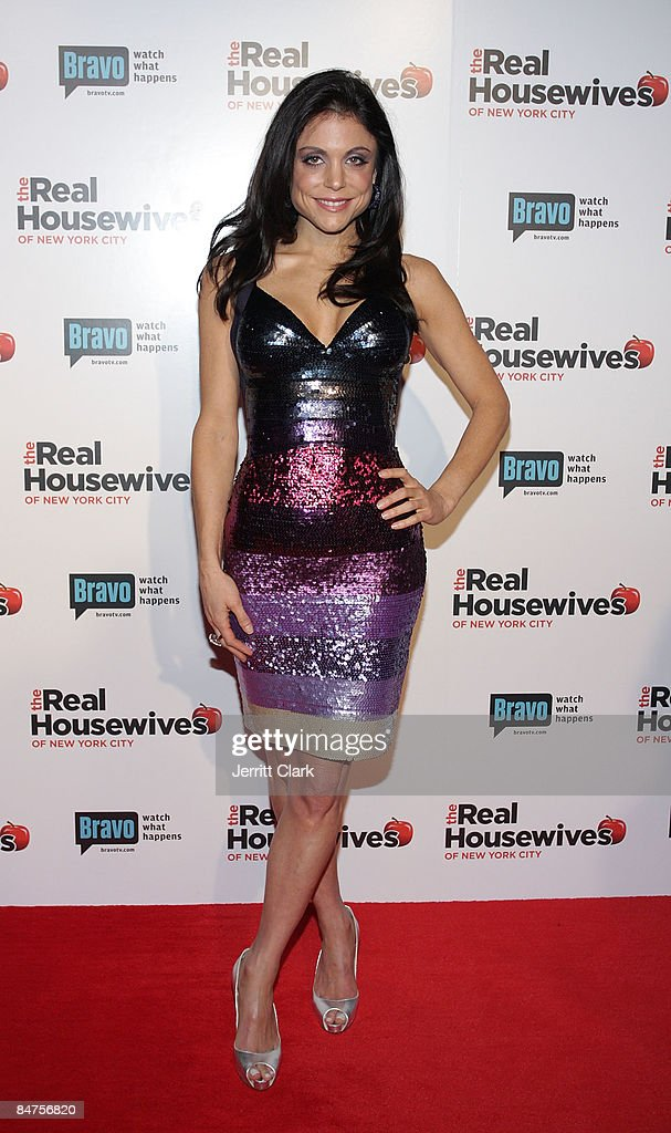 Bethenny Frankel attends 'The Real Housewives of New York City' season 2 premiere party at Gilt at the Palace Hotel on February 11 2009 in New York...