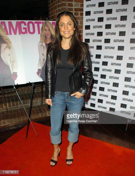 Bethenny Frankel during Gotham Magazine Celebrates Claire Danes at Hudson Hotel in New York City New York United States