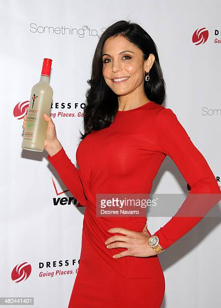 Bethenny Frankel Founder of Skinnygirl Cocktails attends the 2014 Dress For Success Something To Share Gala at the Grand Hyatt New York on April 3...