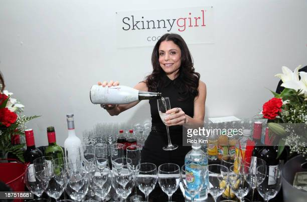 Bethenny Frankel host of Bethenny and founder of SkinnyGirl Cocktails attends the Shop For Success Kick Off VIP Party at Metropolitan Pavilion on...