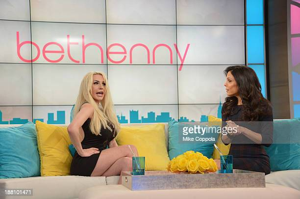 Bethenny Frankel hosts Courtney Stodden on 'bethenny' at CBS Broadcast Center on November 15 2013 in New York City