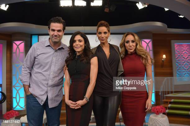 Bethenny Frankel hosts Daisy Fuentes James Blunt Melissa Gorga Nicole Murphy and Rob Delaney on 'bethenny' at CBS Broadcast Center on November 15...