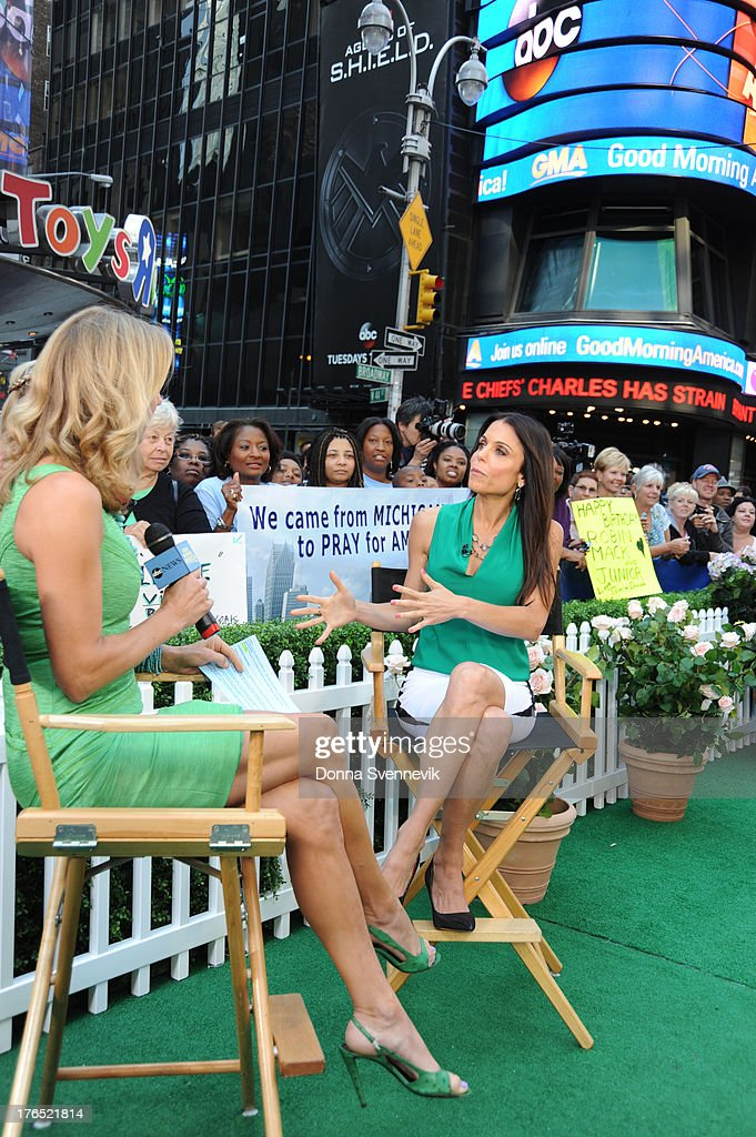 AMERICA - Bethenny Frankel is a guest on 'Good Morning America,' 8/13/13, airing on the ABC Television Network. LARA