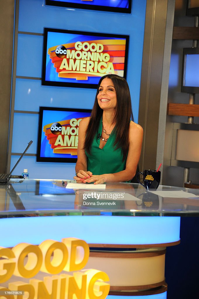 AMERICA - Bethenny Frankel is a guest on 'Good Morning America,' 8/13/13, airing on the ABC Television Network. BETHENNY
