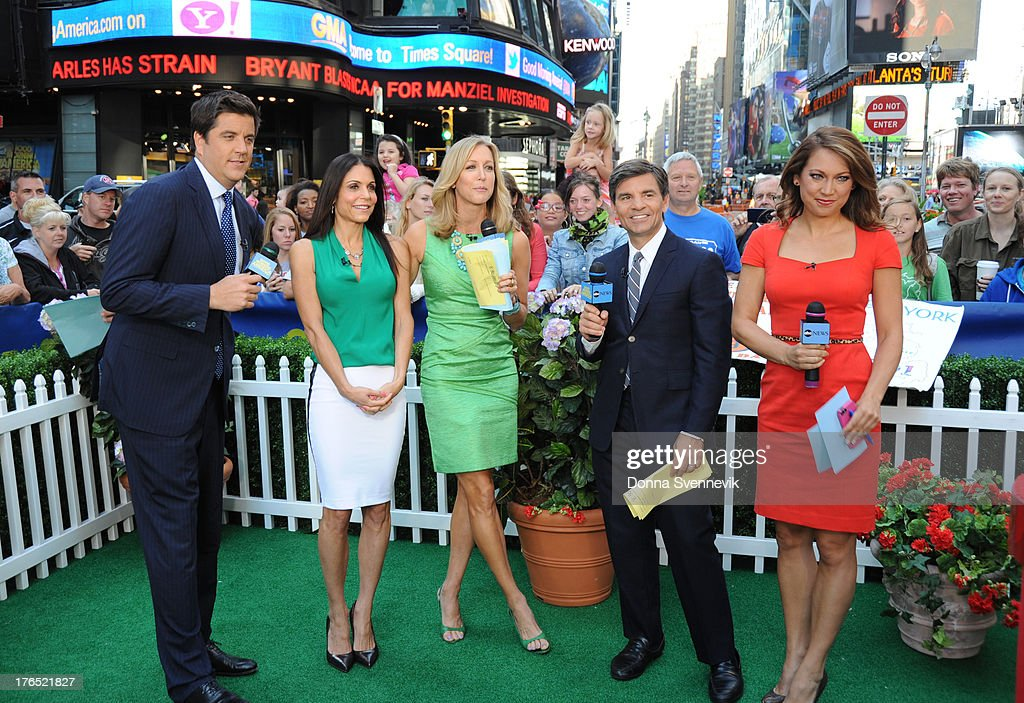 AMERICA - Bethenny Frankel is a guest on 'Good Morning America,' 8/13/13, airing on the ABC Television Network. JOSH
