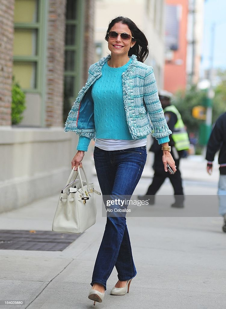 Bethenny Frankel is seen in Tribeca at Streets of Manhattan on October 12, 2012 in New York City.