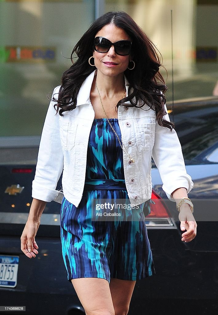 Bethenny Frankel is seen in Tribeca on July 24, 2013 in New York City.