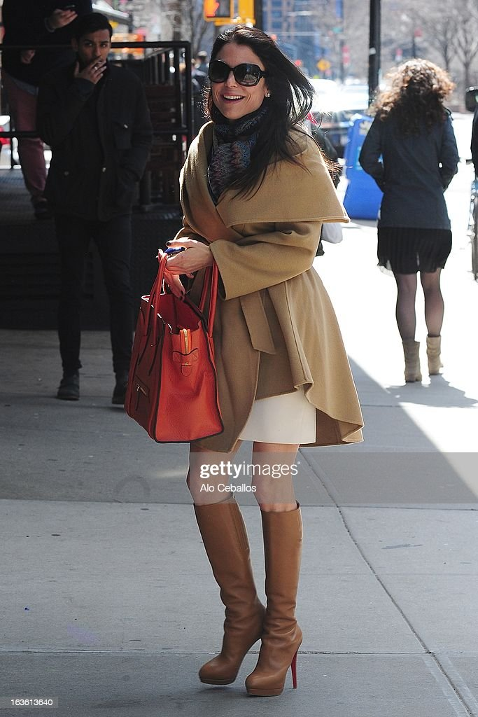 Bethenny Frankel is seen in Tribeca on March 13, 2013 in New York City.