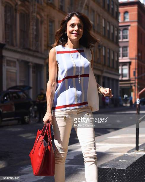 Bethenny Frankel is seen on May 17 2017 in New York City