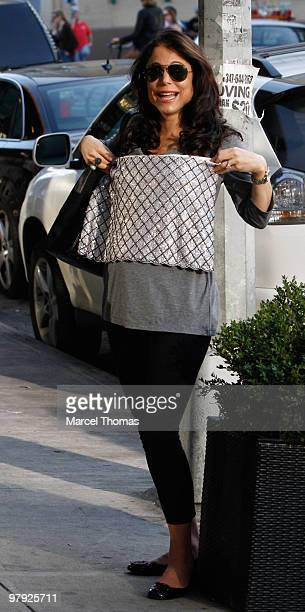Bethenny Frankel is seen walking in the Meat Packing district on March 20 2010 in New York City