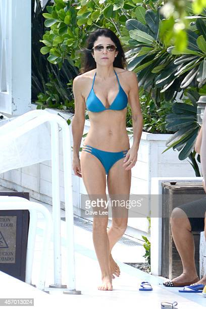 Bethenny Frankel is sighted at the Soho Beach House Hotel in Miami Beach on October 10 2014 in Miami Florida