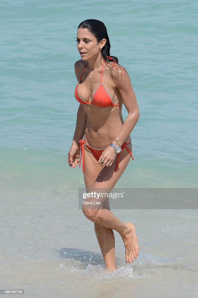 Bethenny Frankel is sighted on MIami Beach on March 30 2015 in Miami Florida