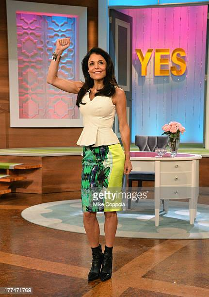 Bethenny Frankel on set of her new talk show 'bethenny' at CBS Broadcast Center on August 23 2013 in New York City 'bethenny' premieres Monday...
