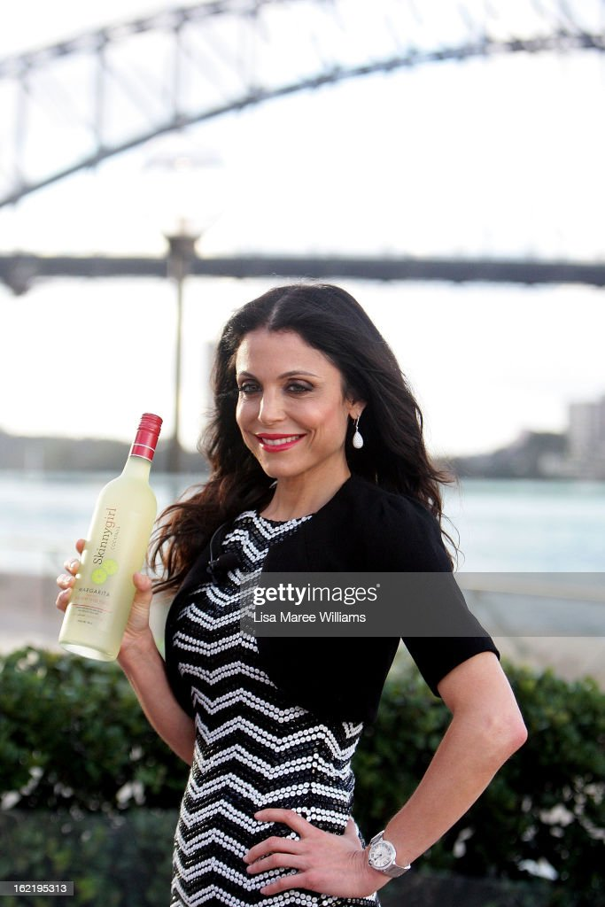 Bethenny Frankel poses at the Skinnygirl Cocktail Pre-Party at Opera Point Marquee on February 20, 2013 in Sydney, Australia.