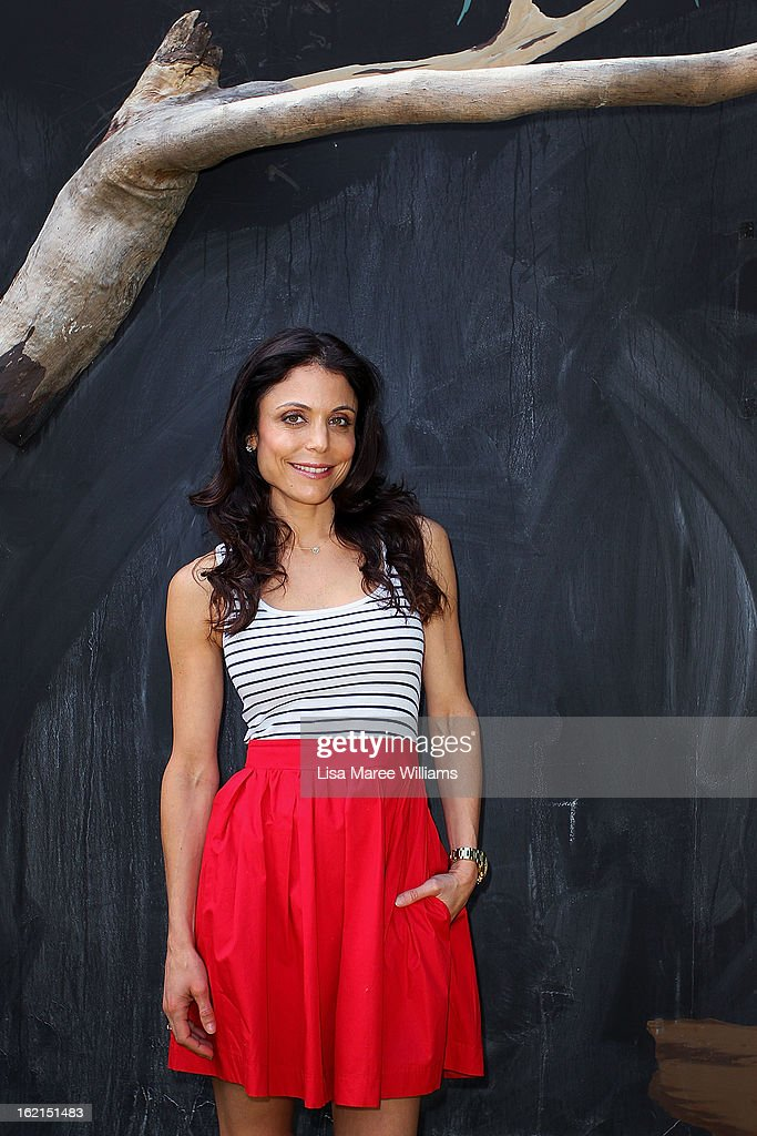 Bethenny Frankel poses during a visit to WILD LIFE Sydney on February 20, 2013 in Sydney, Australia.