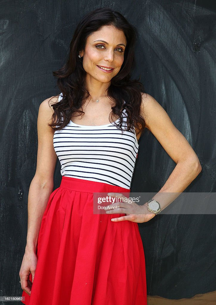 Bethenny Frankel poses during her visit to WILD LIFE Sydney on February 20, 2013 in Sydney, Australia.