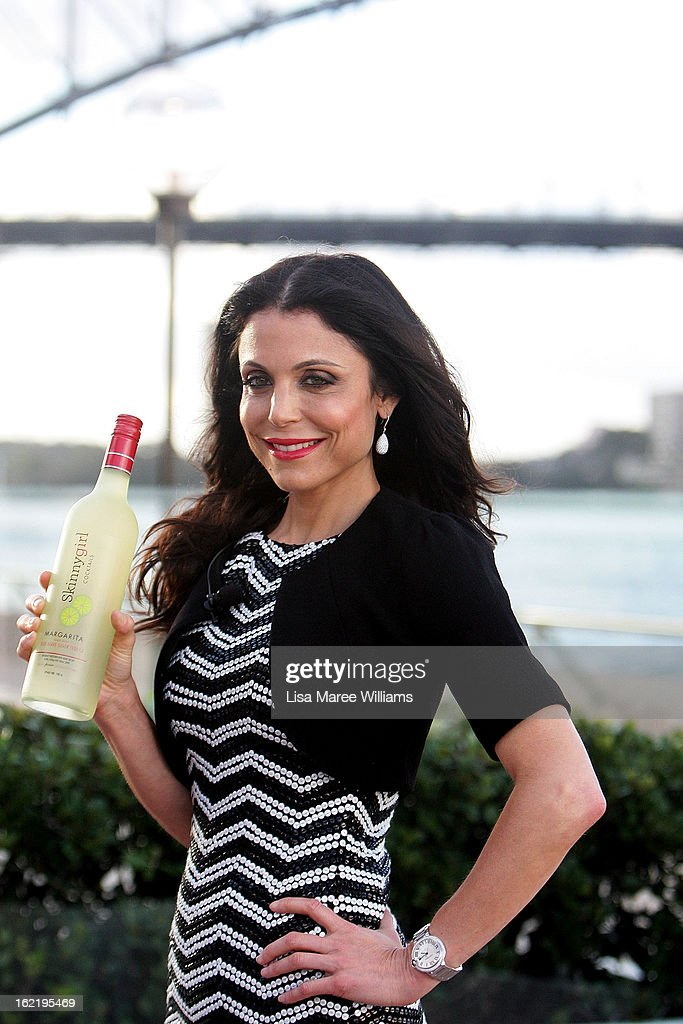 Bethenny Frankel poses during the Skinnygirl Cocktail Pre-Party at Opera Point Marquee on February 20, 2013 in Sydney, Australia.