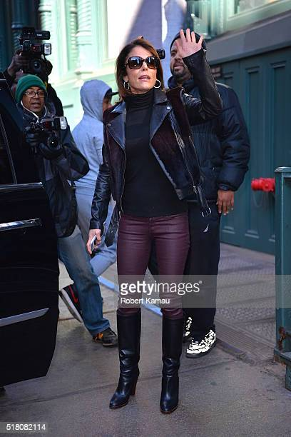Bethenny Frankel seen out after lunch at Lure restaurant in SoHo on March 29 2016 in New York City