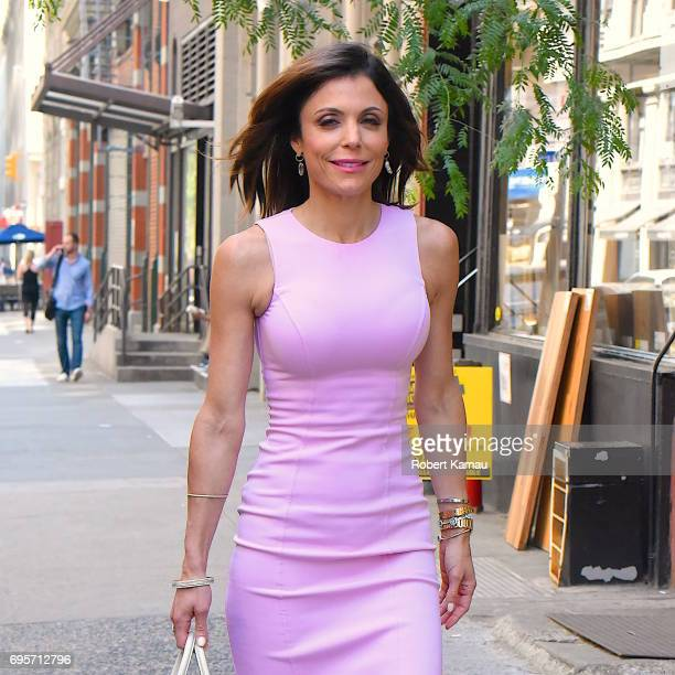 Bethenny Frankel seen out in Manhattan on June 13 2017 in New York City
