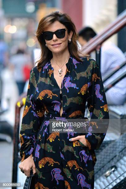 Bethenny Frankel seen out in Manhattan on June 22 2017 in New York City