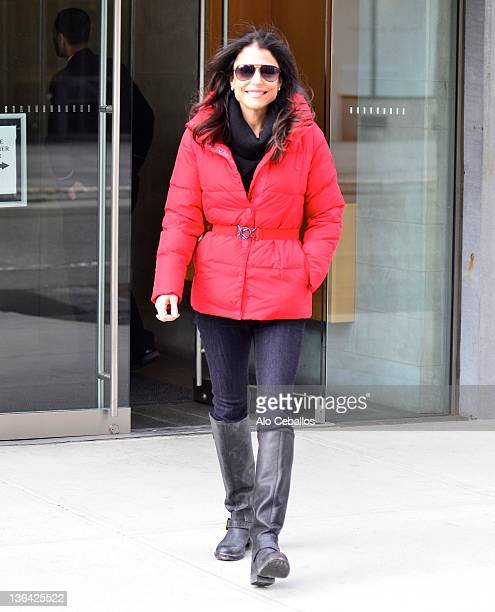 Bethenny Frankel sighting on the streets of Manhattan on January 4 2012 in New York City
