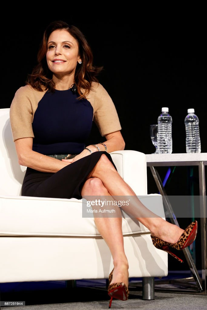 Bethenny Frankel speaks at the Opening Night of the Massachusetts Conference for Women at the Boston Convention Center on December 6, 2017 in Boston, Massachusetts.