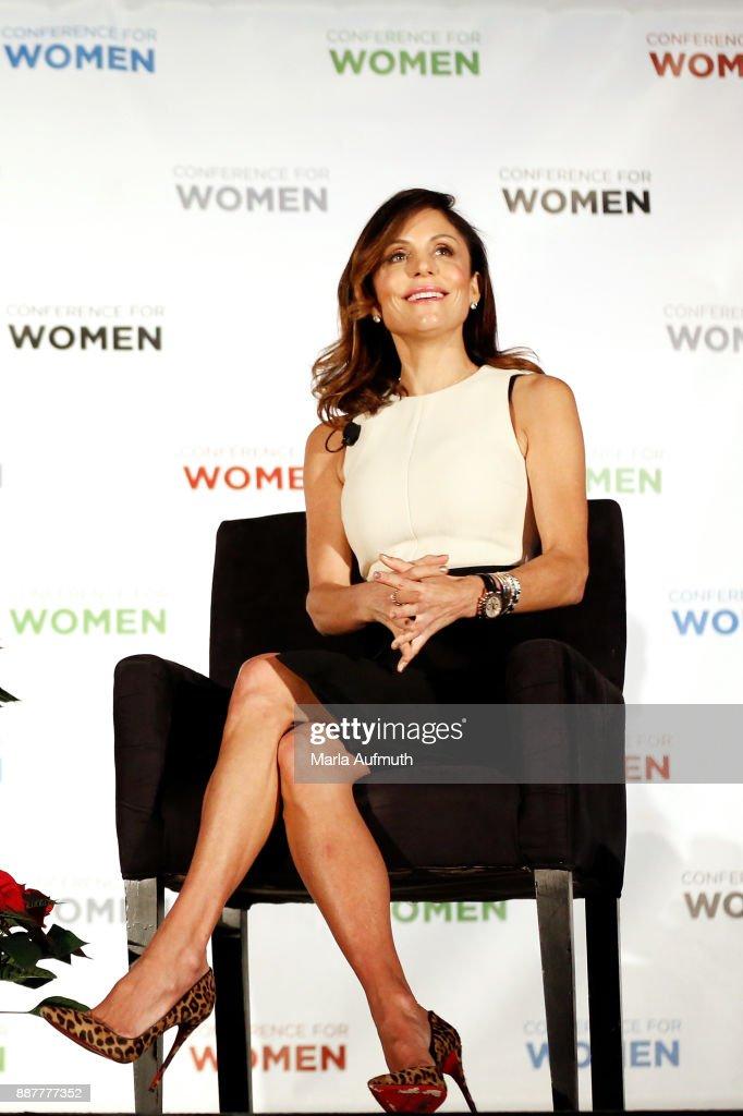 Bethenny Frankel speaks during the Massachusetts Conference for Women 2017 at the Boston Convention Center on December 7, 2017 in Boston, Massachusetts.
