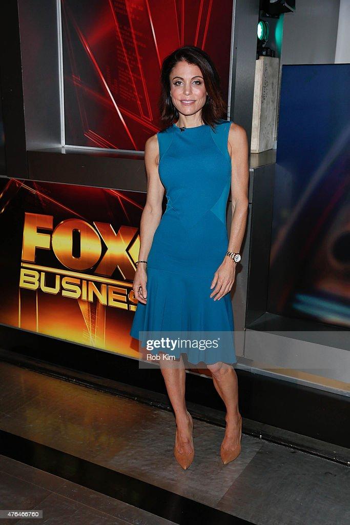 Bethenny Frankel Visits FOX Business Network