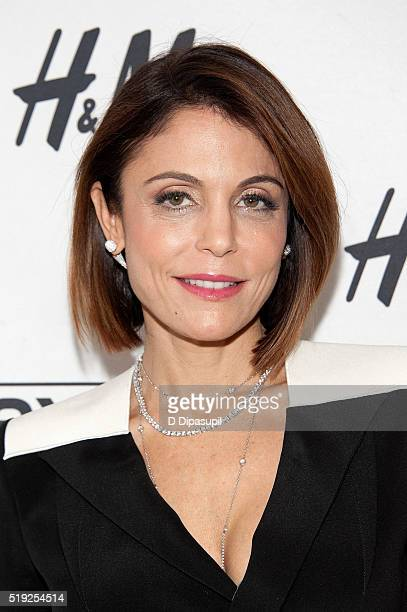Bethenny Frankel visits 'Extra' at their New York studios at HM in Times Square on April 5 2016 in New York City