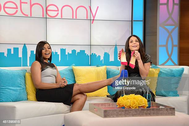 Bethenny Hosts Ashanti Stassi Schroeder Chante Moore and Michelle Collins at the CBS Broadcast Center on November 22 2013 in New York City