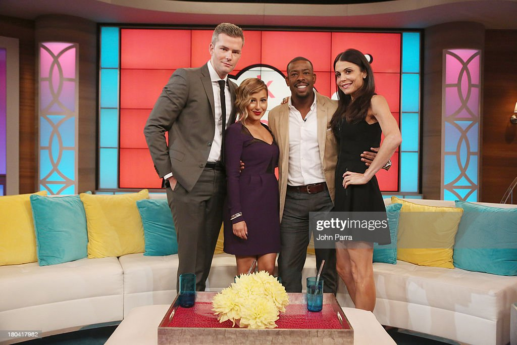 Bethenny hosts Kelly Osbourne Ryan Serhant Adrienne Bailon Chuck Nice Five Minute Bra Solutions at CBS Broadcast Center on September 12 2013 in New...