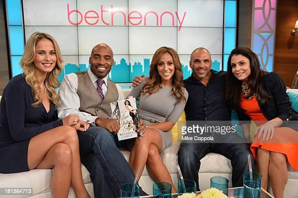 Bethenny hosts Tiki Barber Traci Johnson Melissa Gorga and Joe Gorga at CBS Broadcast Center on September 19 2013 in New York City