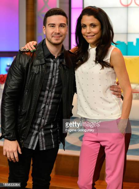 Bethenny hosts Vinny Guadagnino 73YearOld Twerking Grandma Joan Wind Melissa Rycroft Garcelle Beauvais and Heather Dubrow at the CBS Broadcast Center...