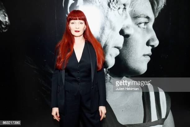 Betony Vernon attends 'Picasso and Maya Father and Daughter' Exhibition Curated By Diana Widmaier Picasso at Gagosian Paris on October 19 2017 in...