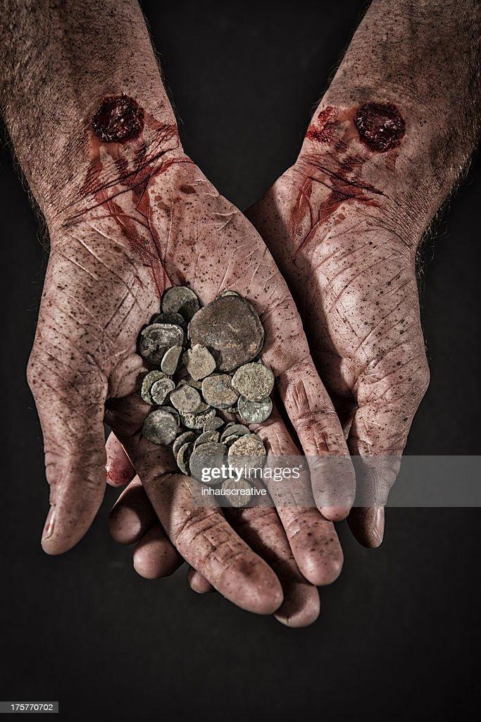 Betrayal Money : Stock Photo